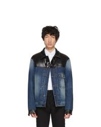 blaue Jeansjacke von Moncler Genius