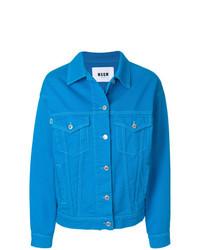 blaue Jeansjacke von MSGM