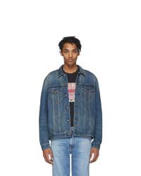 blaue Jeansjacke von Nudie Jeans