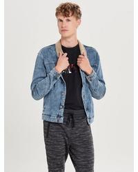 blaue Jeansjacke von ONLY & SONS