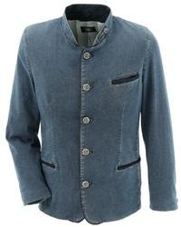 blaue Jeansjacke von OS-TRACHTEN