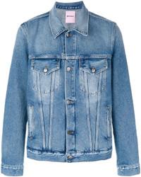 blaue Jeansjacke von Palm Angels