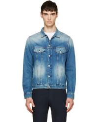 blaue Jeansjacke von Paul Smith