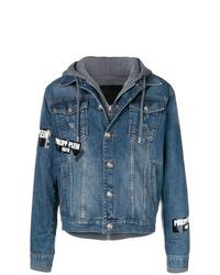 blaue Jeansjacke von Philipp Plein