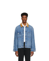 blaue Jeansjacke von Polo Ralph Lauren