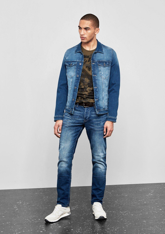 blaue Jeansjacke von Q/S designed by