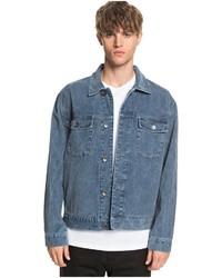 blaue Jeansjacke von Quiksilver