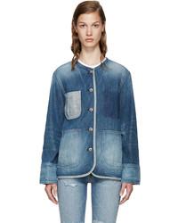 blaue Jeansjacke von Rag & Bone