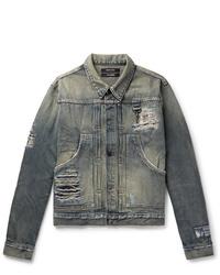 blaue Jeansjacke von Reese Cooper®