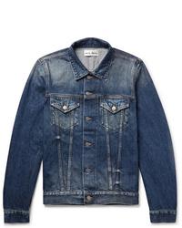 blaue Jeansjacke von Salle Privée