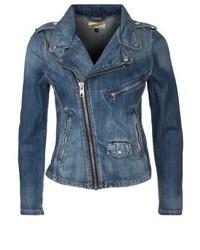 Blaue Jeansjacke von Schott NYC