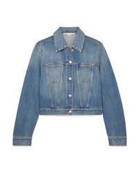 blaue Jeansjacke von Stella McCartney
