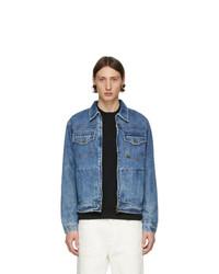blaue Jeansjacke von Tiger of Sweden Jeans