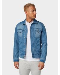 blaue Jeansjacke von Tom Tailor Denim