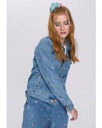 blaue Jeansjacke von Tommy Jeans