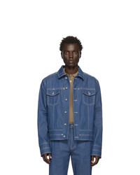 blaue Jeansjacke von Valentino