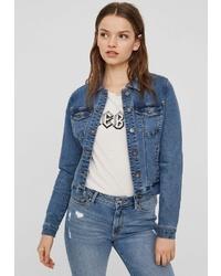 blaue Jeansjacke von Vero Moda
