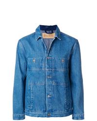 blaue Shirtjacke aus Jeans von Études