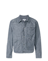 blaue Shirtjacke aus Jeans von Engineered Garments