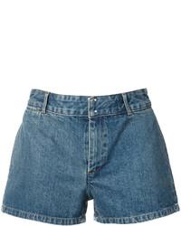 blaue Jeansshorts von A.P.C.