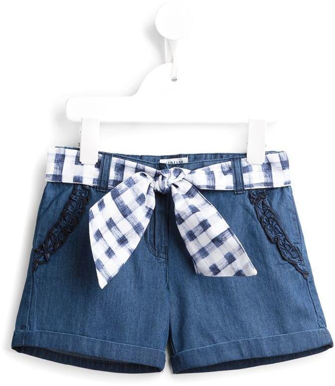 blaue Jeansshorts von Armani Junior