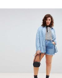 blaue Jeansshorts von Asos