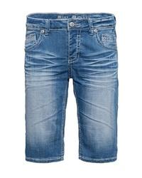 blaue Jeansshorts von BLUE MONKEY