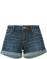 blaue Jeansshorts von Paige