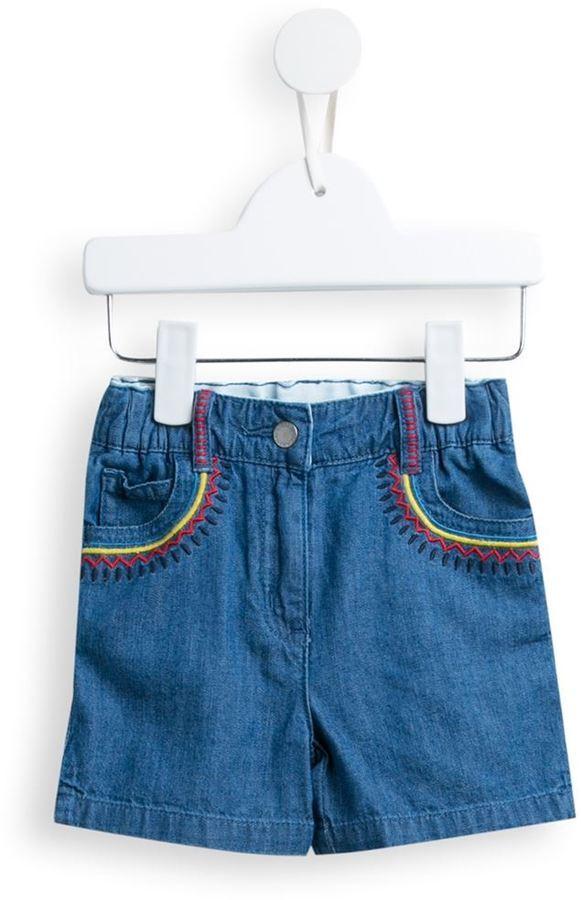 blaue Jeansshorts von Stella McCartney