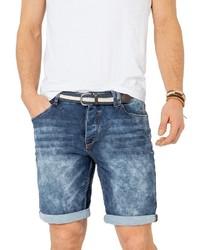 blaue Jeansshorts von Sublevel