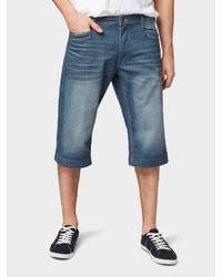 blaue Jeansshorts von Tom Tailor