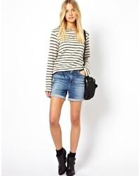 blaue Jeansshorts von Vero Moda