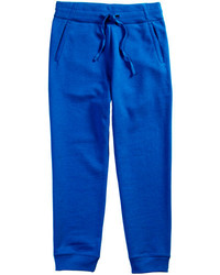 blaue Jogginghose