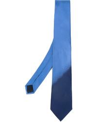 blaue Krawatte von Lanvin