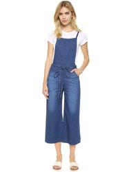 blaue Latzhose von AG Jeans