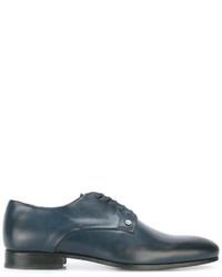 blaue Leder Derby Schuhe von Kenzo