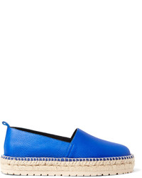 blaue Leder Espadrilles von Balenciaga