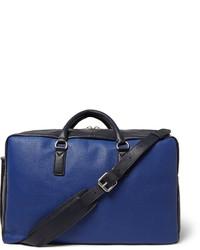blaue Leder Reisetasche von Marc by Marc Jacobs