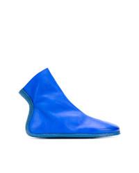 blaue Leder Stiefeletten von Marsèll