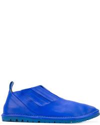 blaue Leder Turnschuhe von Marsèll
