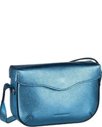 blaue Leder Umhängetasche von Coccinelle