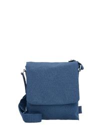 blaue Leder Umhängetasche von Jost