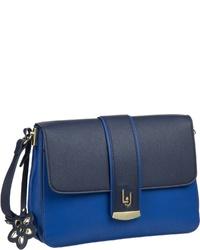blaue Leder Umhängetasche von Liu Jo