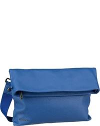 blaue Leder Umhängetasche von Mandarina Duck