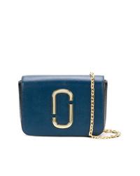 blaue Leder Umhängetasche von Marc Jacobs