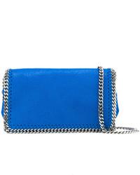 blaue Leder Umhängetasche von Stella McCartney