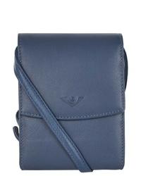 blaue Leder Umhängetasche von VOi
