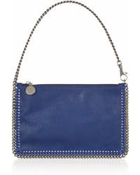 blaue Lederhandtasche von Stella McCartney