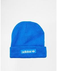 blaue Mütze von adidas