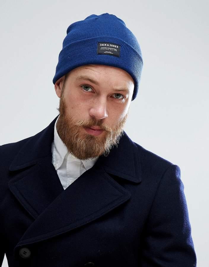 blaue Mütze von Jack and Jones